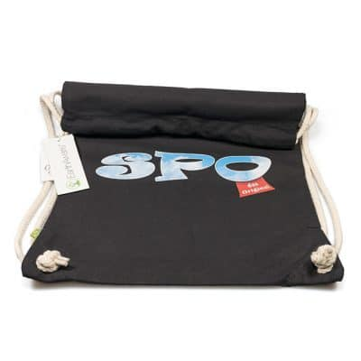 SPO Gym Bag schwarz